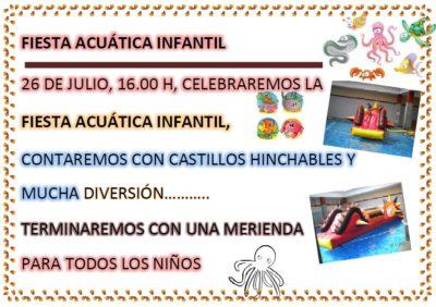 Fiesta Acuática Infantil